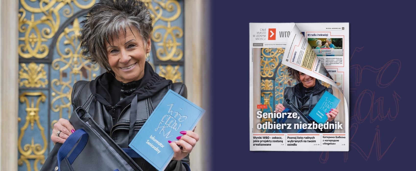 Biuletyn wroclaw.pl mr 58. Wkładka wydawnictwa poświęcona jest seniorom.