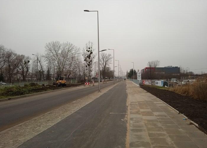 Przebudowa drogi nr 342 przy Targpiaście/fot. PB