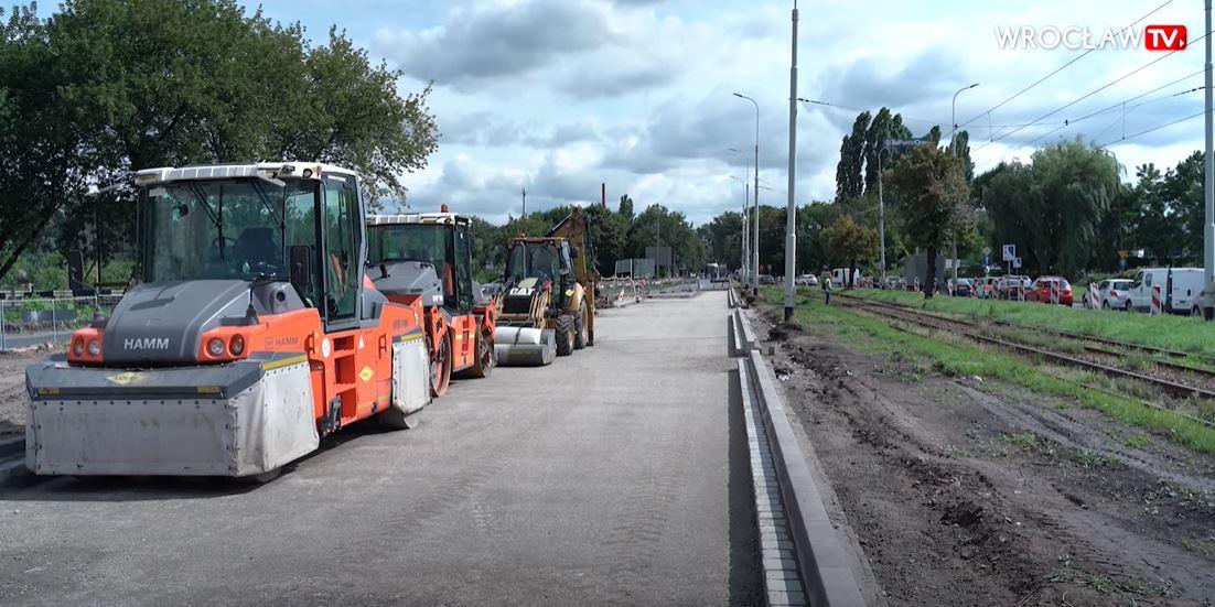 Tramwaje na ul Krakowskiej we Wrocławiu