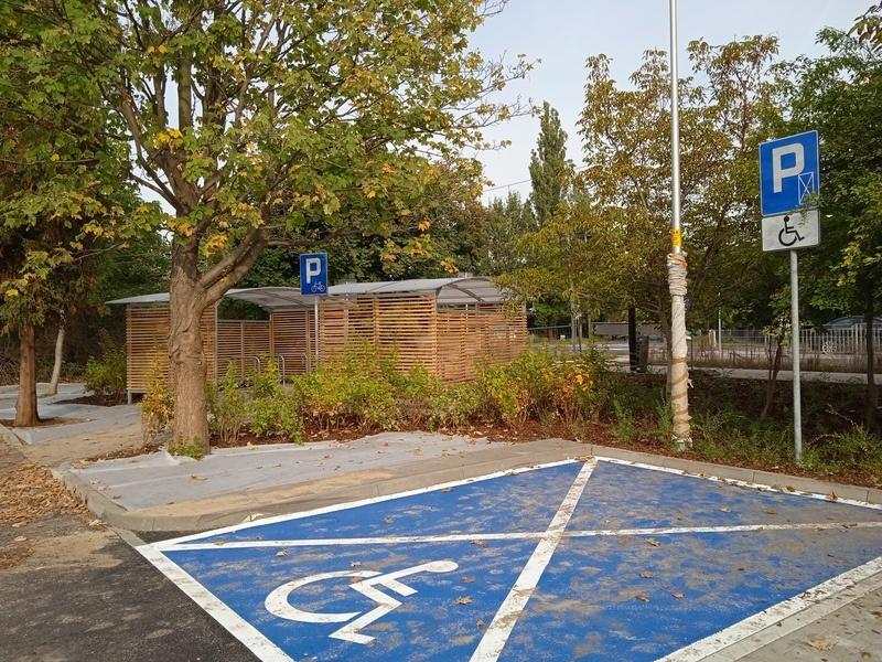 Parking park and ride przy ul. Kamiennogórskiej