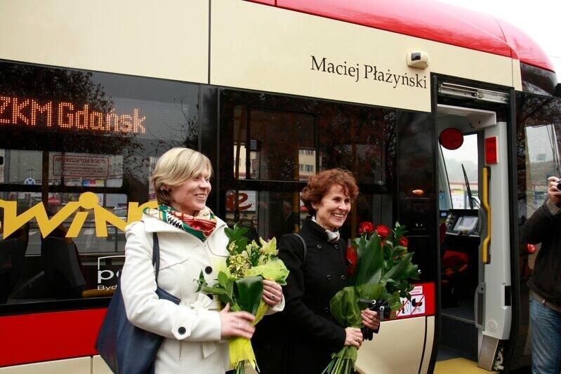 Tramwaje w Gdańsku mają już swoich patronów/fot: Bartłomiej Borowczak/www.gdansk.pl