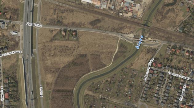 rejon ulicy Żernickiej 152-154