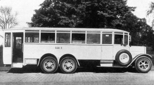 autobus, Breslau 1927