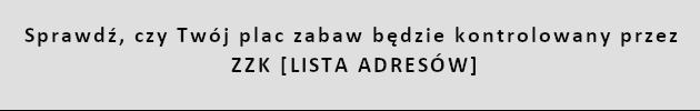 place zabaw lista adresów