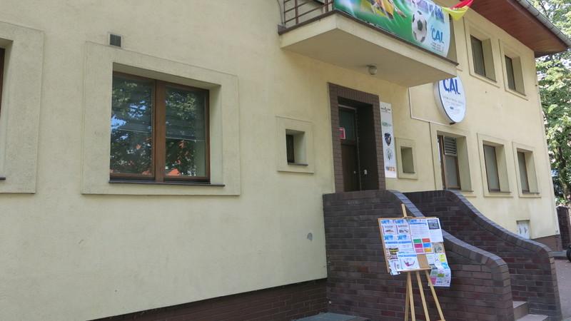 Budynek Centrum Aktywności Lokalnej na osiedlu Zacisze-Zalesie-Szczytniki, fot. Bartosz Moch
