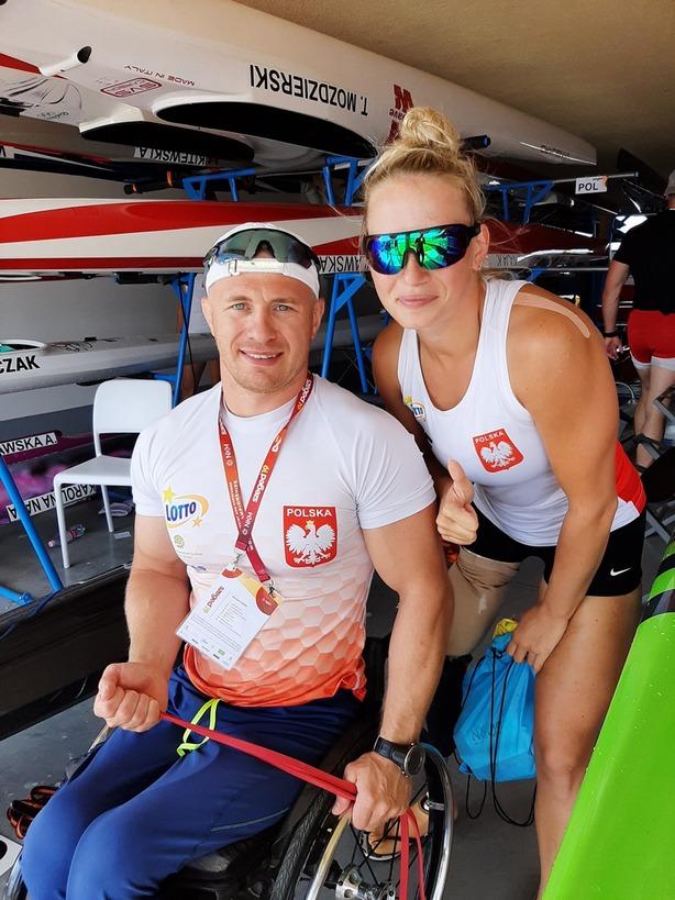 Fot. Renata Klekotko i fanpage Paracanoe Team Poland