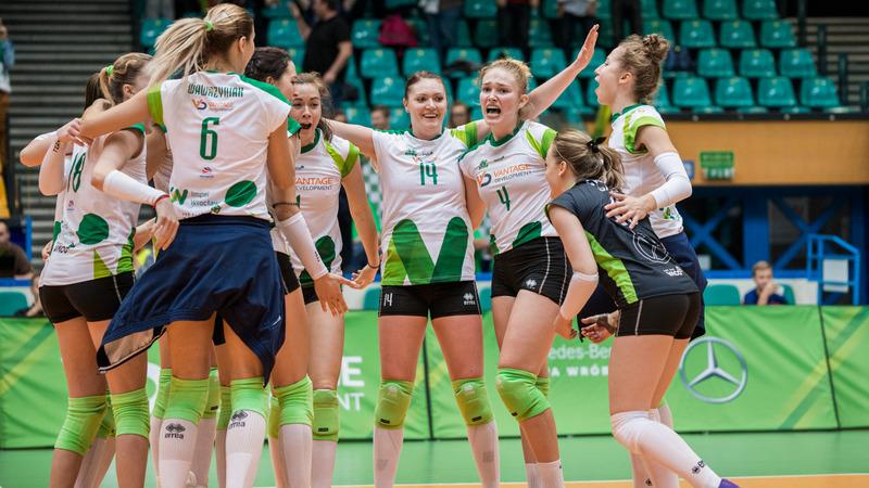 Czy w przyszłym sezonie we Wrocławiu znów zobaczymy siatkówkę na ekstraklasowym poziomie? Fot. Impel Wrocław