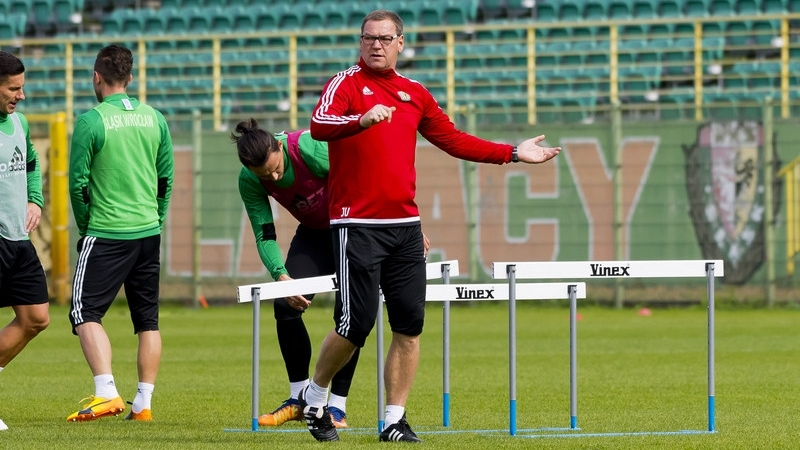 Trener WKS-u Jan Urban do sierpnia 2016 r. pracował w Lechu Poznań. W piątek zagra przeciwko byłemu klubowi, fot. Krystyna Pączkowska