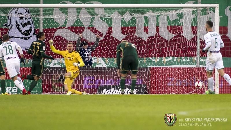 Śląsk Wrocław znów przegrał na wyjeździe - tym razem z Lechią Gdańsk 1:3, fot. Krystyna Pączkowska, WKS Śląsk Wrocław