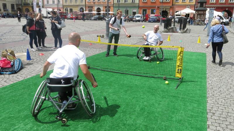 Trening na placu Solnym przed rozpoczęciem Wrocław Cup 2018, fot. Bartosz Moch