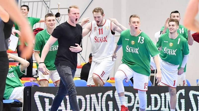Dla koszykarzy Śląska wygrana nad GKS Tychy jest czwartą z kolei, fot. WKS Śląsk Wrocław.