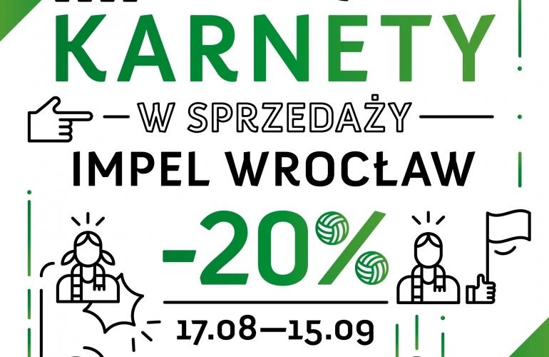 Do 15 września karnety na nowy sezon ORLEN Ligi w wykonaniu siatkarek Impela Wroclaw 20% taniej, fot. impelwroclaw.pl