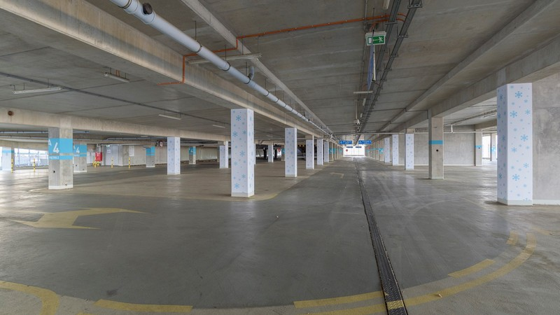 Nowe lodowisko zostanie otwarte na parkingu wielopoziomowym, fot. Stadion Wrocław