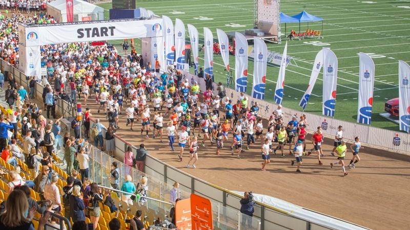 Start 36. PKO Wrocław Maratonu - wrzesień 2018 r.