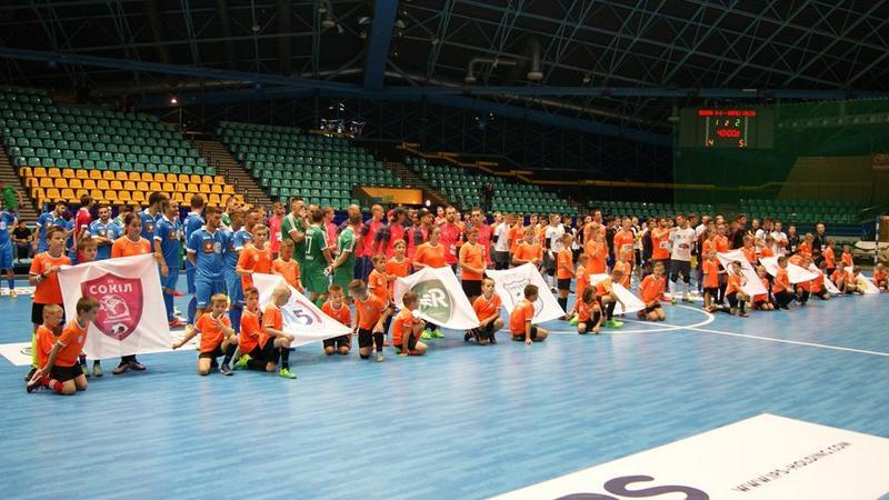 Pierwszy dzień turnieju Futsal Masters 2017 w hali Orbita za nami, fot. Bartosz Moch