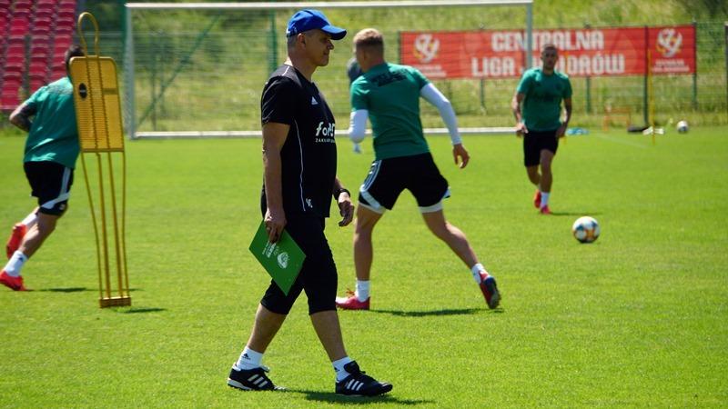 Śląsk przygotowania do nowego sezonu rozpoczął w czerwcu. Pierwszy trening na stadionie przy u. Oporowskiej, fot. Patryk Załęczny