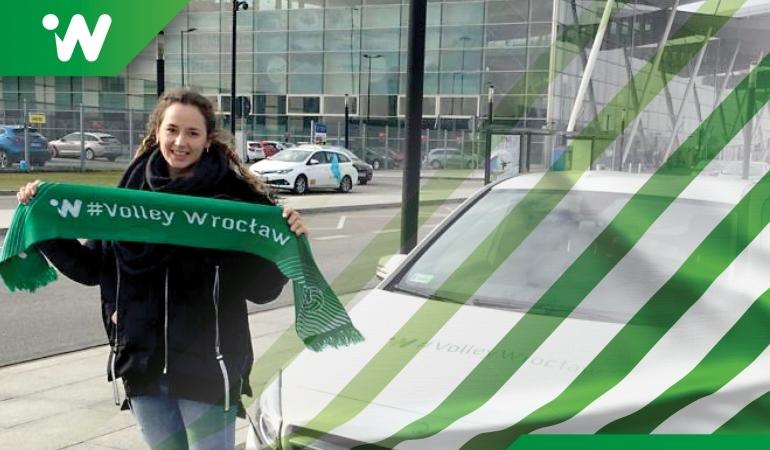 Słoweńska przyjmująca Monika Potokar do Wrocławia trafiła z ligi greckiej, fot. #VolleyWrocław