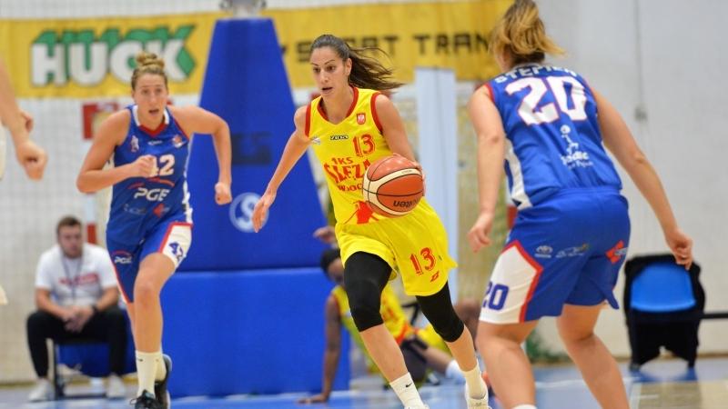 Ślęza Wrocław udanie rozpocżęła nowy sezon Basket Ligi Kobiet – od zwycięstwa z PGE MKK Siedlce, fot. Ślęza Wrocław