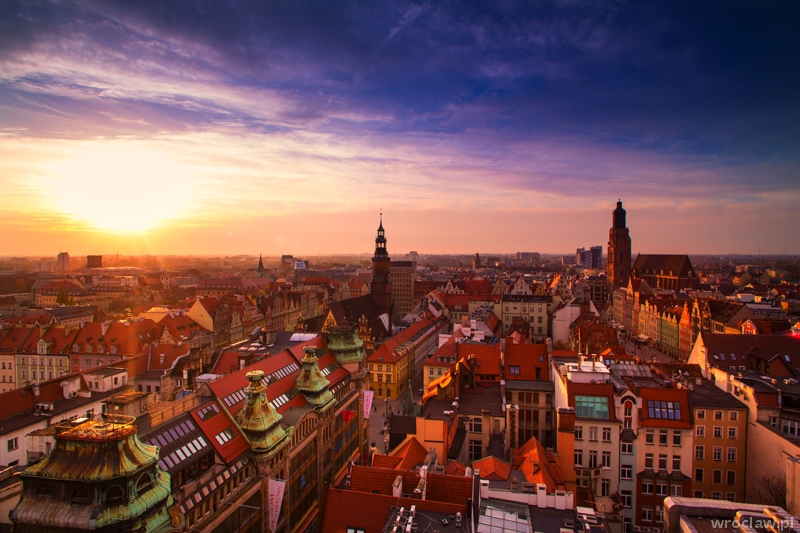 The Penitent Bridge is the spot where Wroclaw reveals its beauty