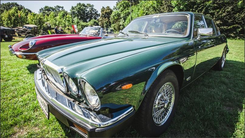Jaguar z Muzeum Motoryzacji