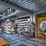 Księgarnio kawiarnia Vegedajnie Nalanda