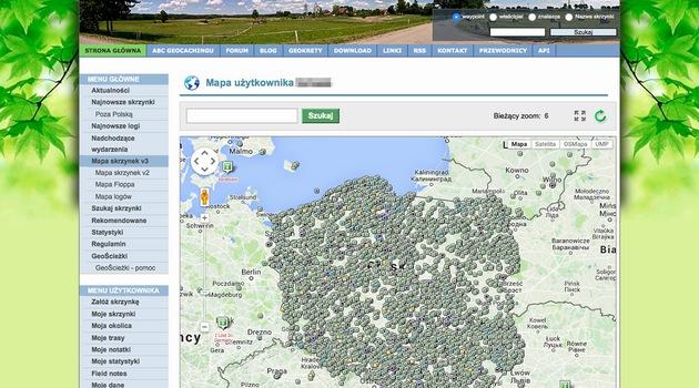 Mapa Caching Mapa