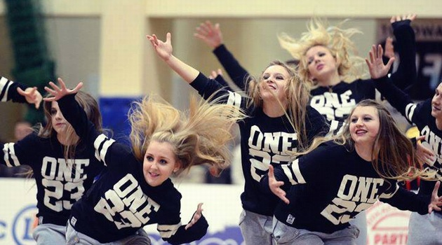 Cheerleaderki Outlaws Wrocław