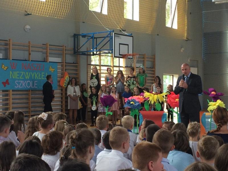 Pierwszy Dzwonek W Szkole Nowy Rok Szkolny 20152016 We