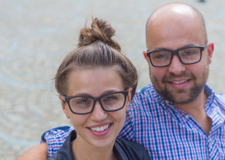 Hölzerne Brillenfassungen Gepetto aus Wroclaw: Designer Mateusz ...