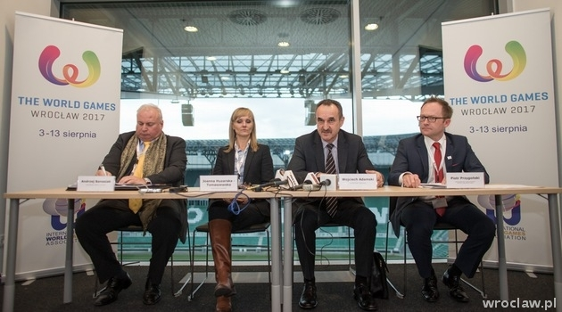 Meeting devoted to The World Games 2017 in Wroclaw