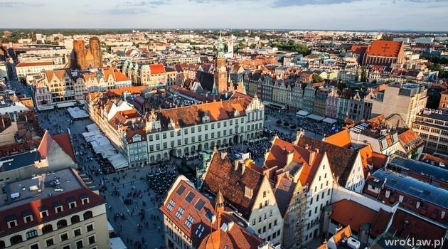 The Wroclaw Market Square is the genuine centre of Wroclaw.
