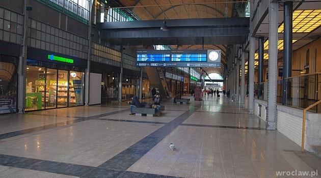 Odnowiona hala Dworca Głównego we Wrocławiu