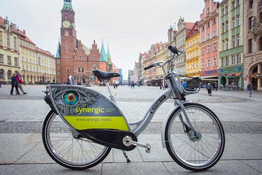 c27c8e76da8fa5 Tak wygląda Wrocławski Rower Miejski na sezon 2019 w wersji standard.