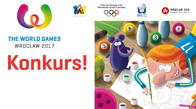 Konkurs na maskotkę The World Games 2017