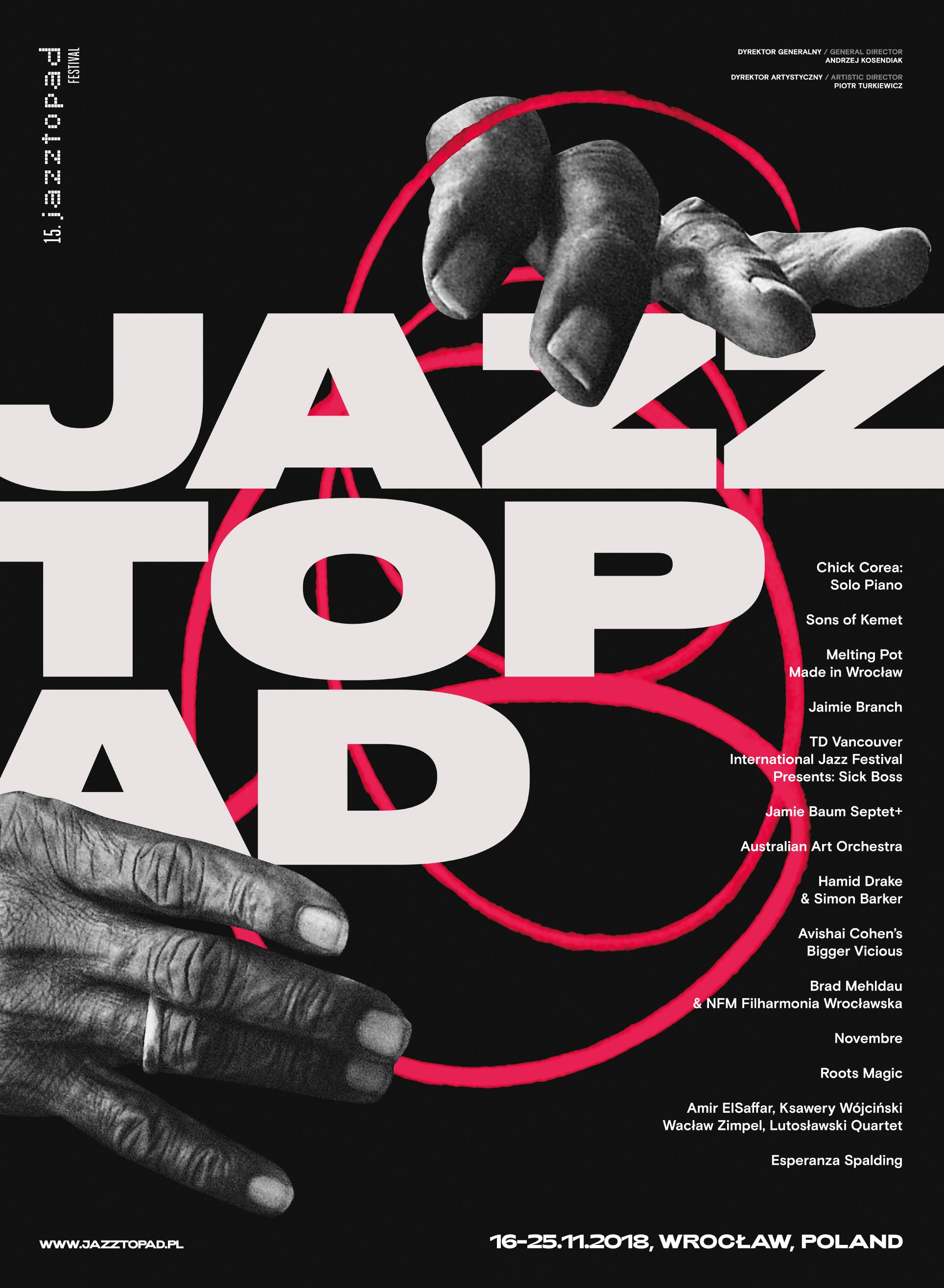 fbde5b85a050e5 ... Piotr Turkiewicz, dyrektor artystyczny Festiwalu Jazztopad (16-25.11).  Dla nas wybrał cztery, jego zdaniem, najciekawsze koncerty tegorocznej  edycji.