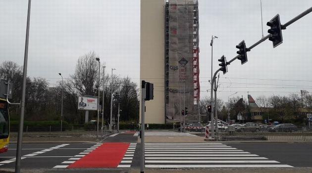przejście dla pieszych, ul. Legnicka