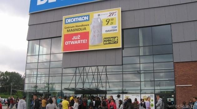 Decathlon W Magnolia Park We Wroclawiu Www Wroclaw Pl