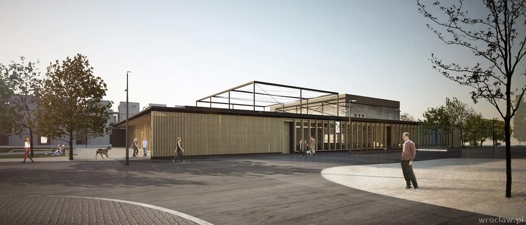 114197ee Tak ma wyglądać Centrum Kultury i Aktywności Lokalnej na modelowym osiedlu  Nowe Żerniki– WUWA2
