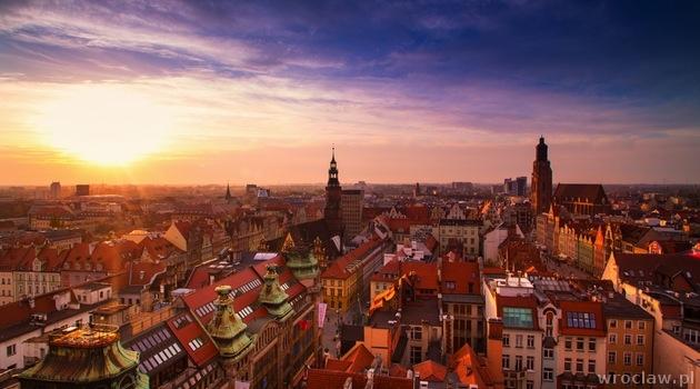 Słoneczny Poniedziałek We Wrocławiu Wwwwroclawpl