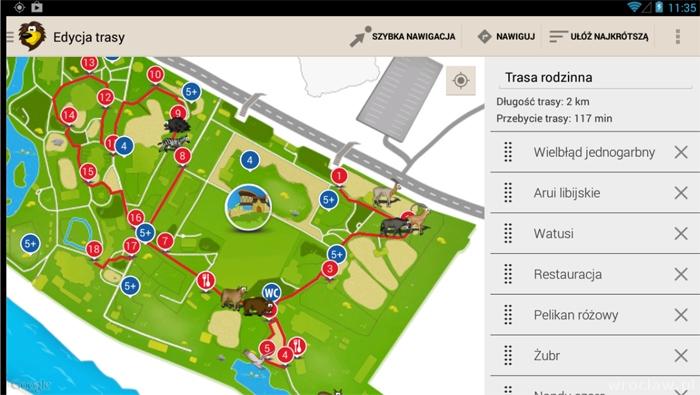 Zwiedzaj Zoo We Wroclawiu Z Mapa Mobilna Www Wroclaw Pl