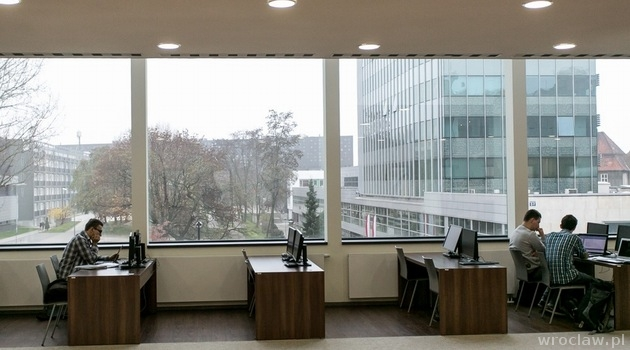 Heinle Wischer Partner library at of technology photos wroclaw pl