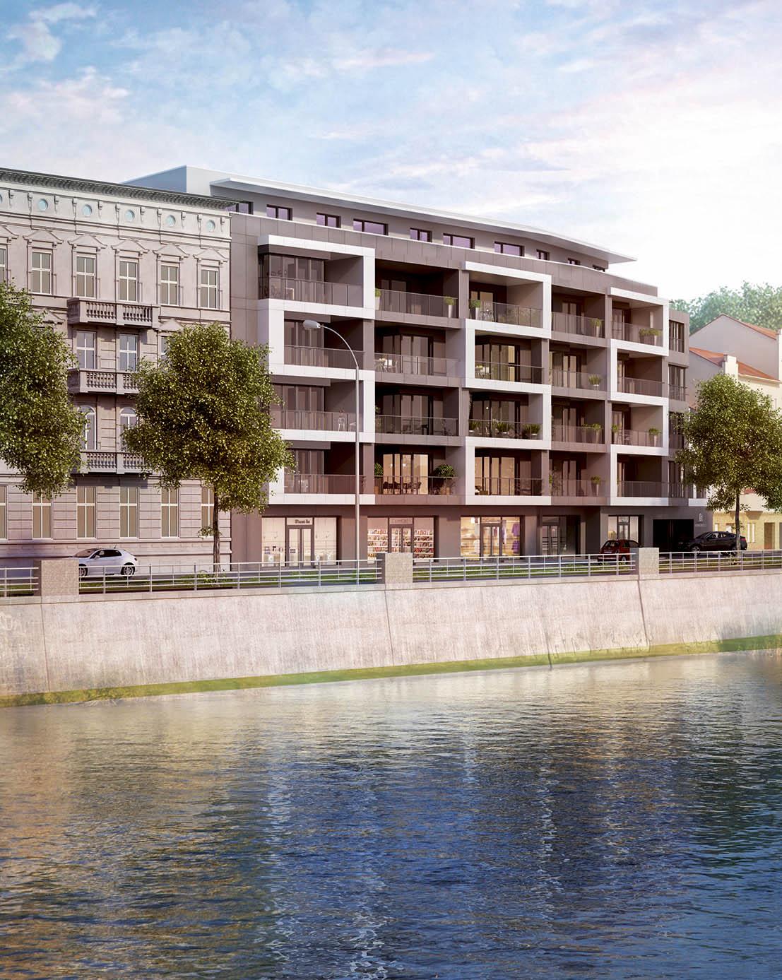 Aktualne Nowy apartamentowiec nad Odrą | www.wroclaw.pl VY61