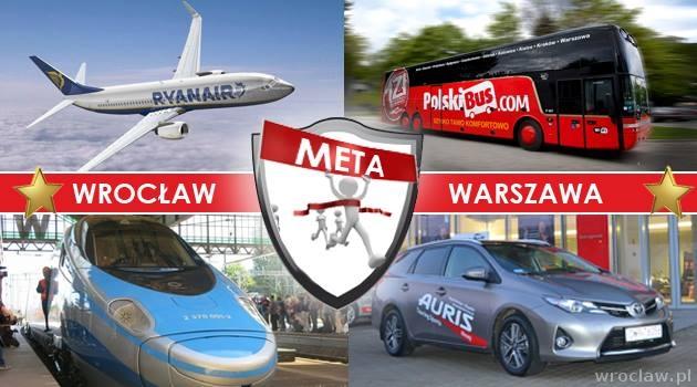 Bardzo dobryFantastyczny Wrocław-Warszawa: Pendolino, PolskiBus, Ryanair, czy samochód NB07