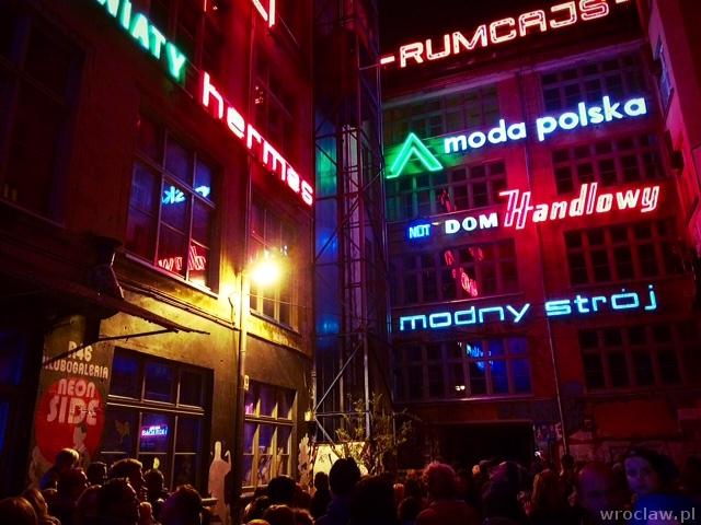 galeria neon side wrocław