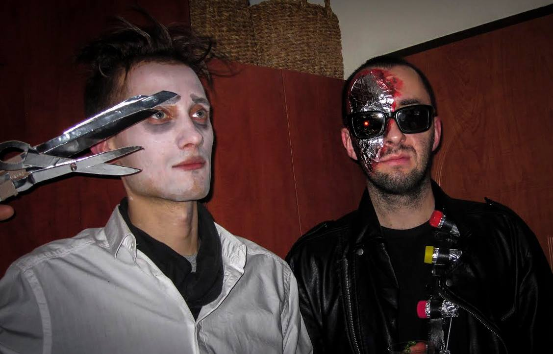 Adam w przebraniu Terminatora