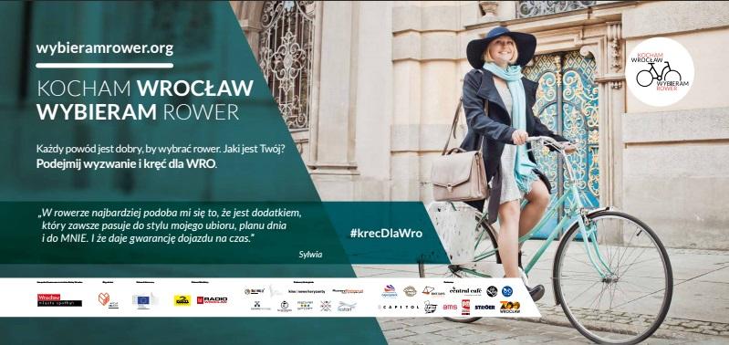 Kocham Wrocław, wybieram rower