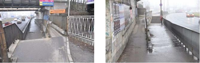 Rampa pod przejazdem kolejowym na ul. Legnickiej