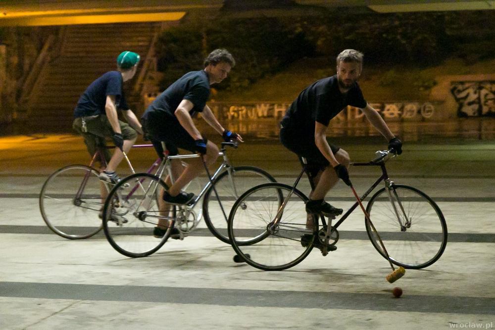 polo na rowerach