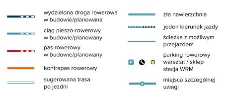 rowerowa mapa infrastruktury