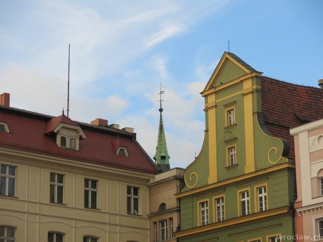 Wieża biblioteki przy Szajnochy-widok z pl. Solnego